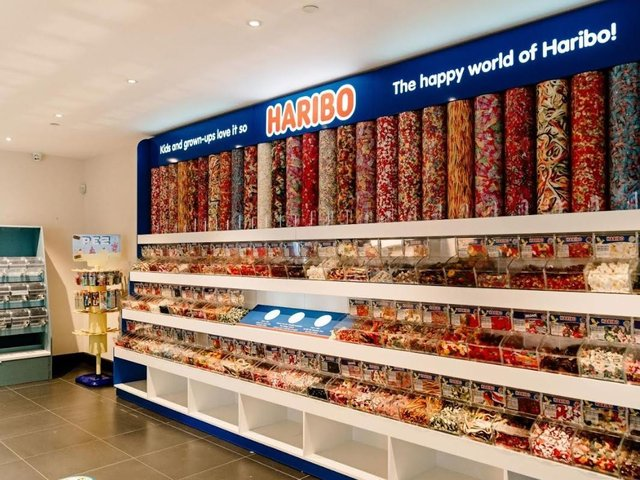A mouthwatering display for customers to enjoy.