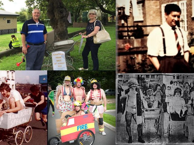 'Ackworth came together in my dad's name' - the story of how an annual pram race grew from a village's efforts to raise funds for four orphaned children