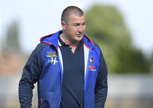 CHRIS CHESTER: The Wakefield Trinity head coach is targeting a third-straight Super League win. Picture: George Wood/Getty Images.