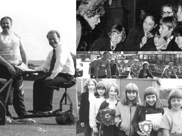Here are 16 pictures of people in Pontefract, taken throughout the last 60 decades