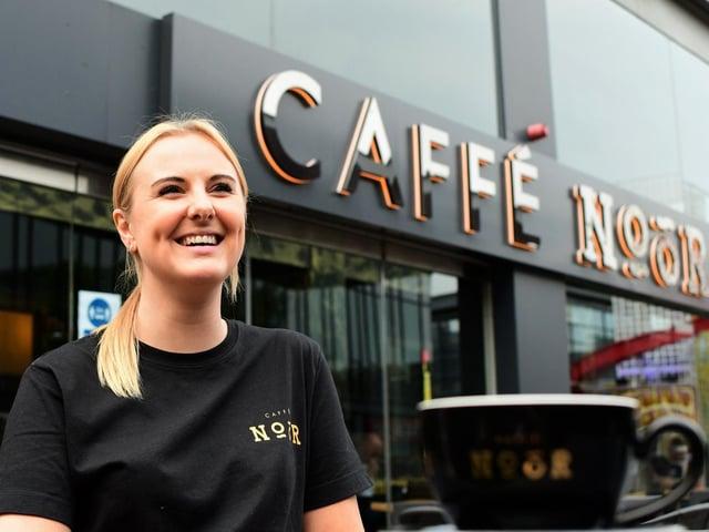 Cafe Noor manager Lauren Stirland