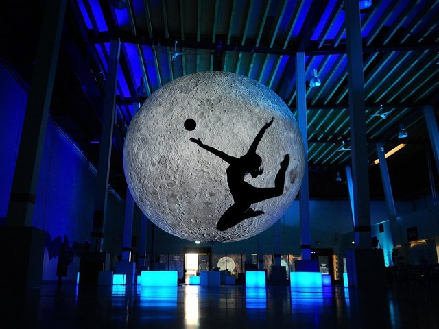 The Market Hall hosted the Festival of the Moon in 2019