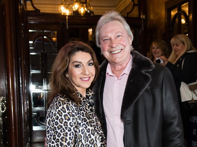 Wakefield's Jane McDonald has thanked her supporters for their generosity, after they raised more than £12,000 for Wakefield Hospice in memory of her late partner Eddie Rothe. Photo by: Jeff Spicer/Getty Images
