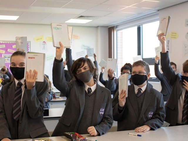 The infection rate among secondary school age pupils is above 100 cases per 100,000 in Wakefield.