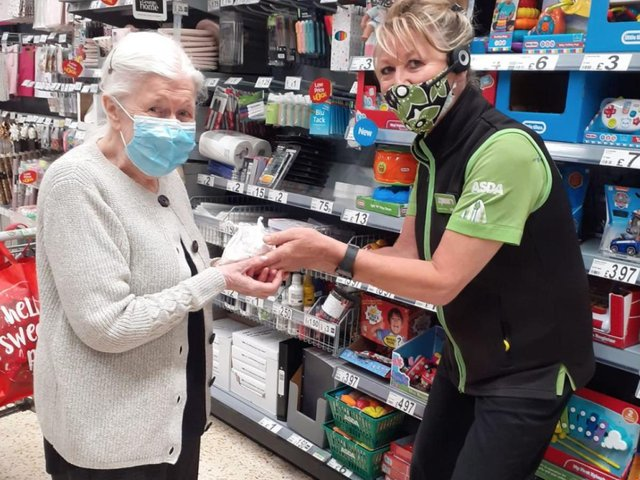 When Asda worker Mel Wynn discovered how much an 87-year-old regular customer loves old-fashioned barley sugar sweets, she went above and beyond to make sure she received a bag of her childhood favourites
