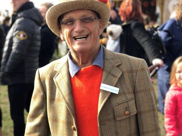 Farmer Ken Copley who died this week, aged 80.