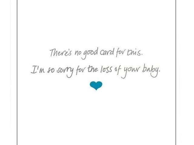 A card to specifically acknowledge the sadness of miscarriage has gone on sale at a major retailer, in what is thought to be a UK first.