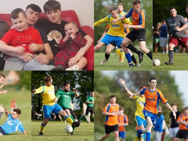 Football tournament in memory of Callum Cunningham.
