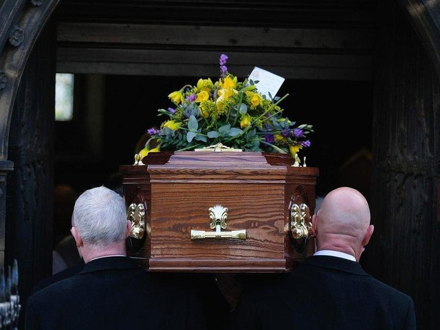 Mr Johnson said he wanted to speak up on behalf of families who would still be subject to tight limits on mourners for the foreseeable future.