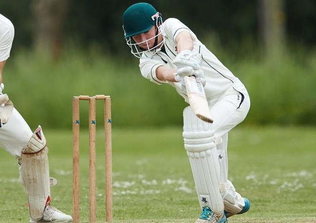 Batting contribution: Pledwick's Owen Leith.