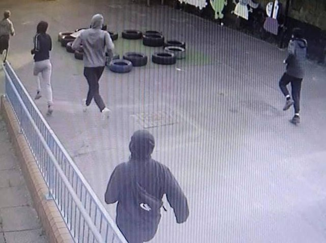Do you recognise any of these yobs?