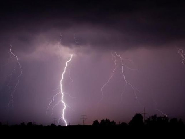 Flooding and lightning strikes have also been predicted.