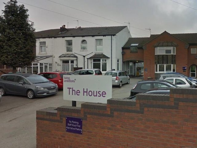 The home is located on Lumley Street in Castleford.