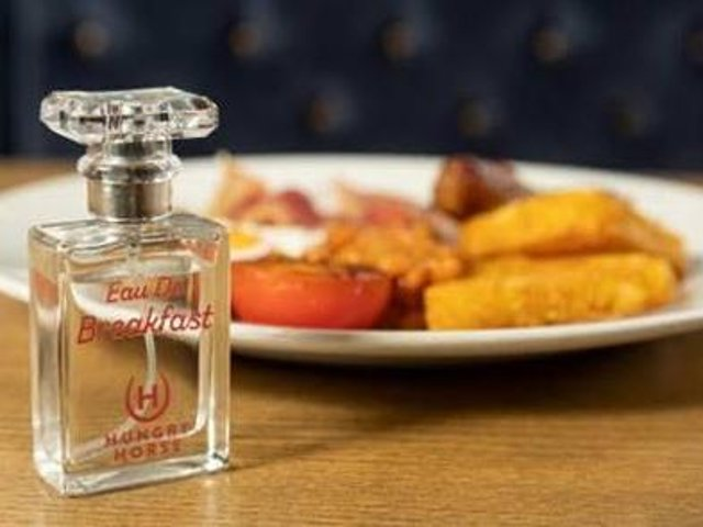The pub has launched a quirky gift for local breakfast lovers just in time for Father's Day – a fragrance that smells just like a full English breakfast.