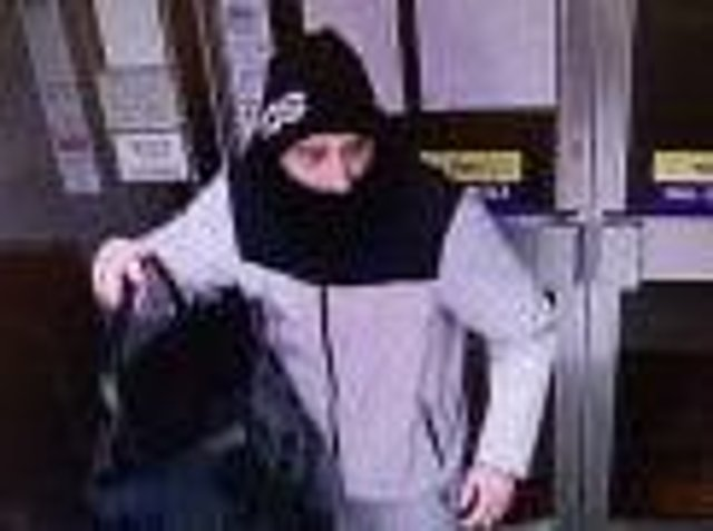 CCTV of the man police want to speak to.