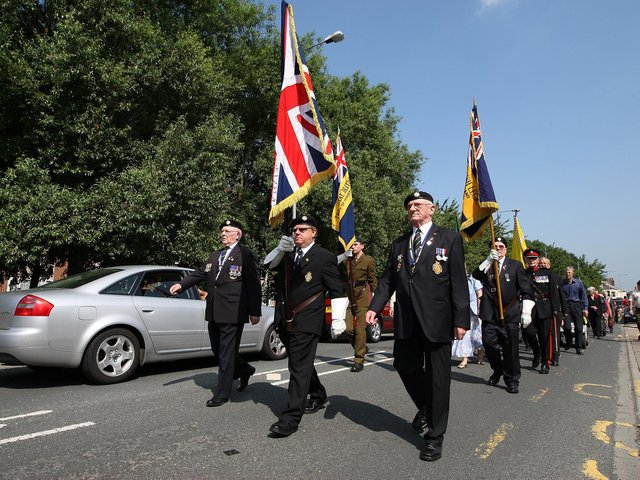 An annual event celebrating the contributions of the Armed Forces in Wakefield and the Five Towns has been called off for a second year. Pictured is a parade at the event in 2013.