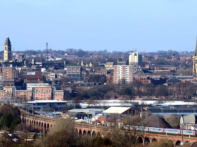 Wakefield's musicians could be given a chance to shine, thanks to a new BBC show. Pictured is the Wakefield skyline.