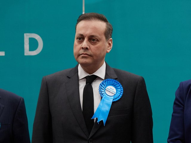Wakefield's MP has been charged with a sexual assault of a teenager in 2008, it can now be revealed. Imran Ahmad Khan is pictured at the general election in 2019.