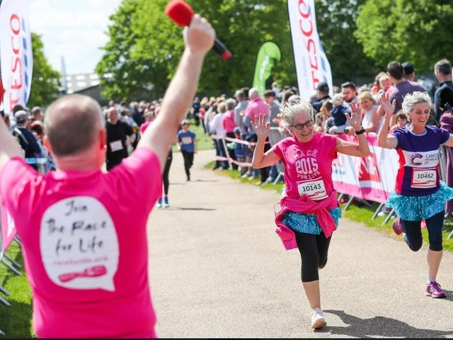 People are being urged to look beyond lockdown by making a date to join Cancer Research UK's Race for Life in Wakefield.