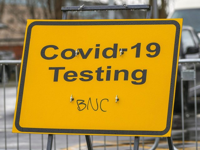 Surge testing: These are all the places in Wakefield, Pontefract and Castleford that you can book a PCR test. Pictured is a Covid-19 testing site in Wakefield in January 2021.