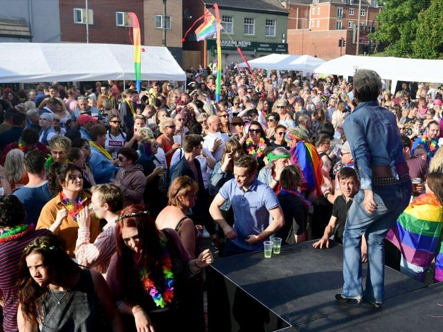 The event attracts thousands of people to Wakefield.