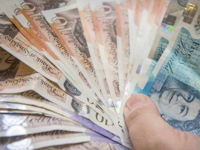 Corlet took over £4,000.