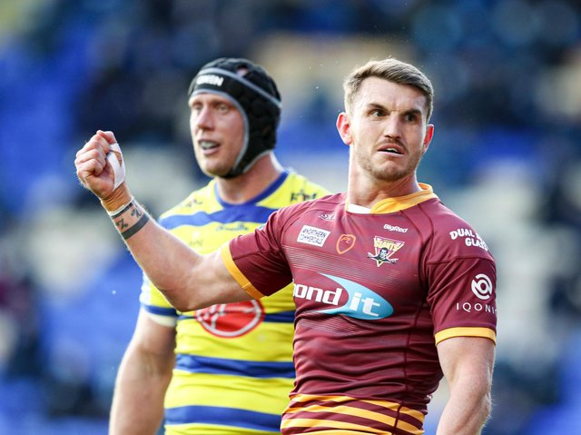ON THE MOVE: Lee Gaskell will join Wakefield Trinity on a two-year deal from 2022. Picture: Paul Currie/SWpix.com.