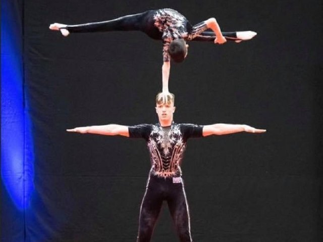 Gymnasts in action at Wakefield Gym Club