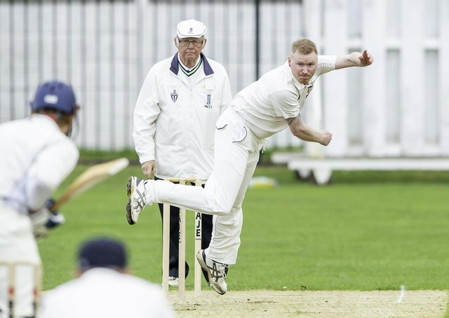 Four wickets: West Bretton's Anthony Scully.