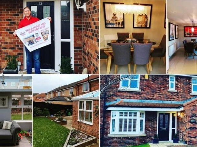 There's just one more day until this four-bedroom family home is finally raffled - but if all tickets aren't sold, one lucky winner will win more than £165,000.