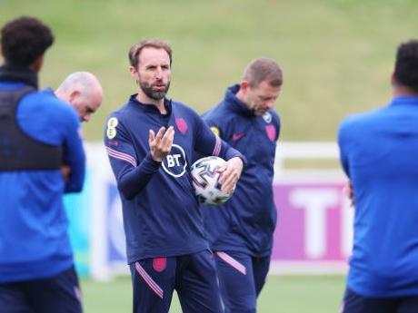 Gareth Southgate's men face a huge test at Wembley later today.