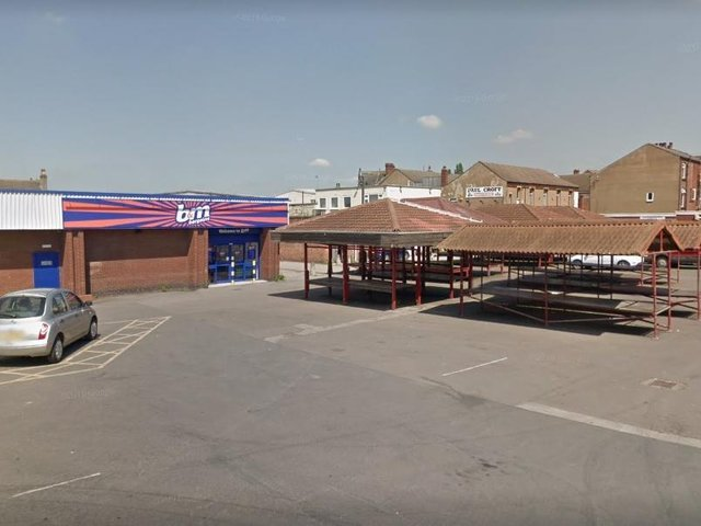 The incident happened at on Friday, June 18, at 8pm in the B&M carpark near to the market stalls.