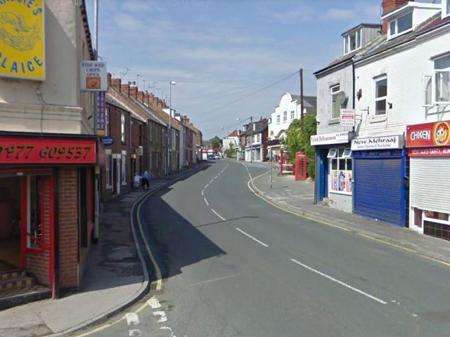 The attack happened on Barnsley Road.