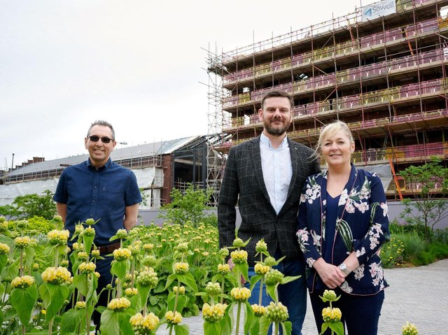 As the deadline for the Wakefield Express Excellence in Business Awards draws nearer, we check in with sponsor Forged in Wakefield, who are celebrating a financial boost. Gary and Victoria Ford, of Forged in Wakefield, outside the Tileyard North development.