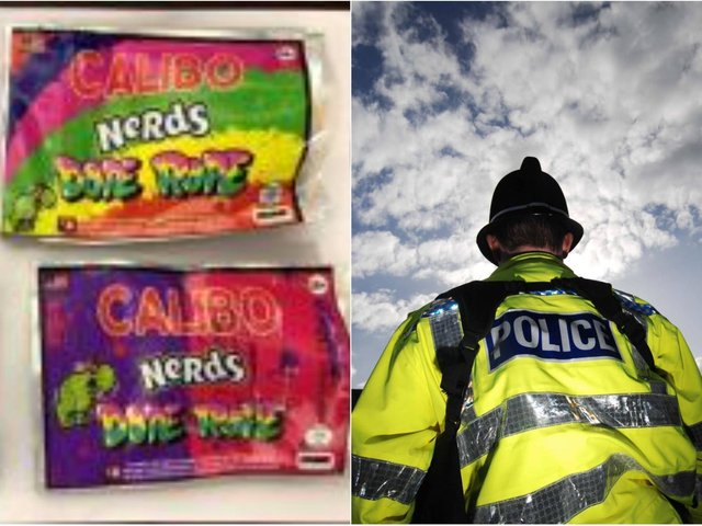 Police have issued a warning to parents after drug-laced sweets were seized during a police raid. Photo: West Yorkshire Police