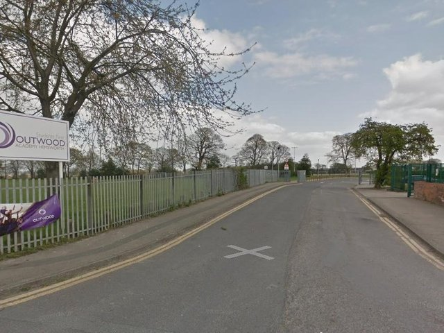 """A Pontefract secondary school has been forced to close to a number of students after """"exceptional levels of staff absence"""" due to Covid isolation. Photo: Google Maps"""