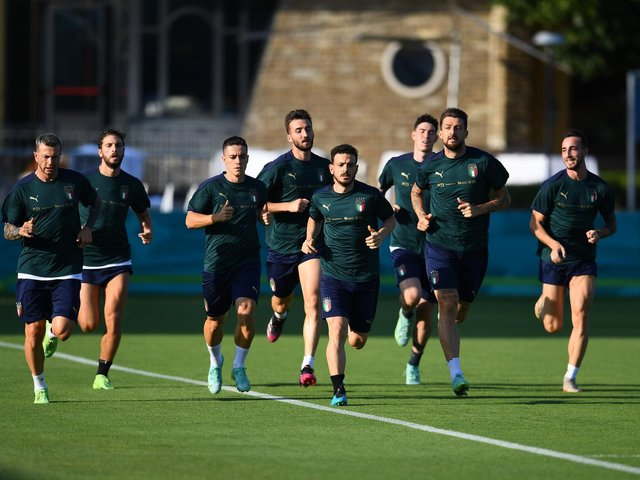 Here's our rundown of five key Italian danger men to look out for, ahead of what could be the most stressful ninety minutes England fans have ever endured:
