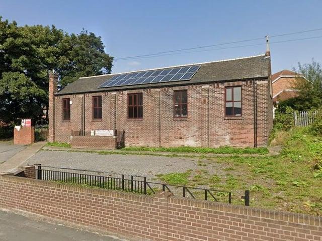 The former church will be a nursery.