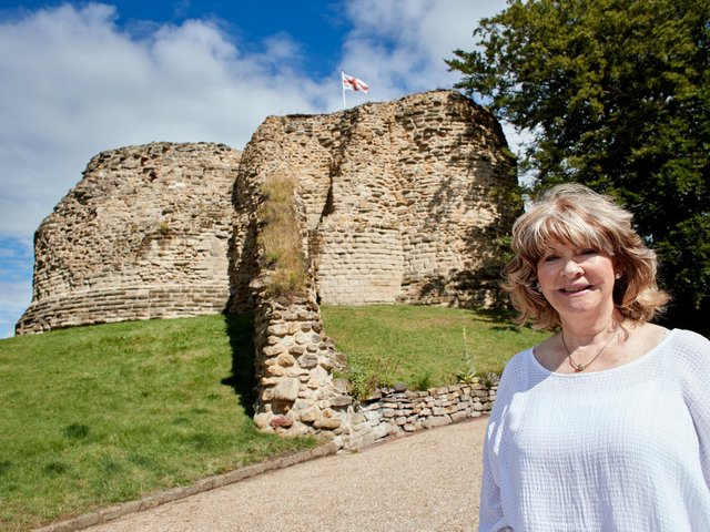 There are just days to go until the Wakefield district officially enters its bid for the City of Culture title. Pictured is Wakefield Council leader Denise Jeffery at Pontefract Castle.