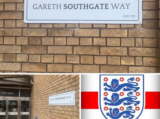 Gareth Southgate Way