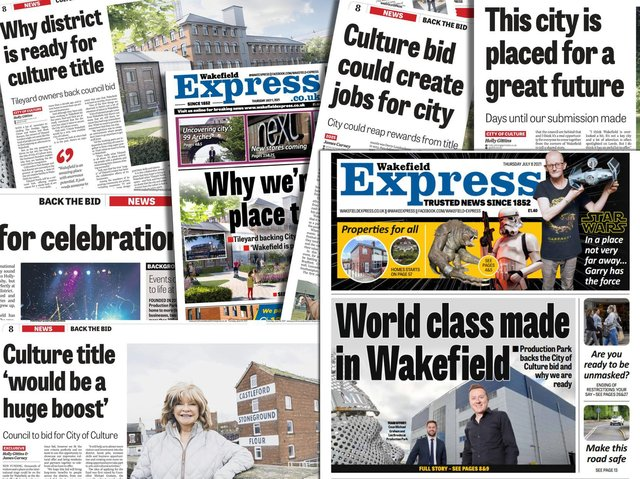 An open letter from your Express to the people of Wakefield: Why we should all be backing the City of Culture bid.
