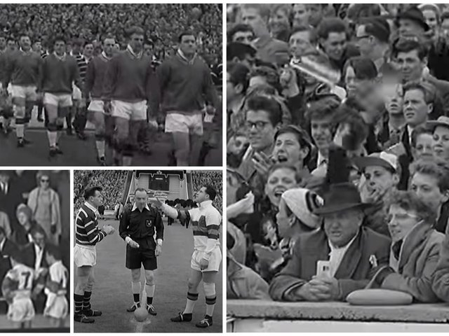 Flashback to 1962 - Wakefield Trinity made it all the way to the Challenge Cup final at Wembley in front of an 85,000 crowd.
