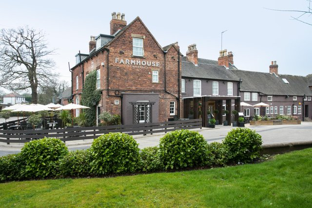 The Farmhouse at Mackworth is a lovely 10-bedroom country inn. Image: Farmhouse at Mackworth